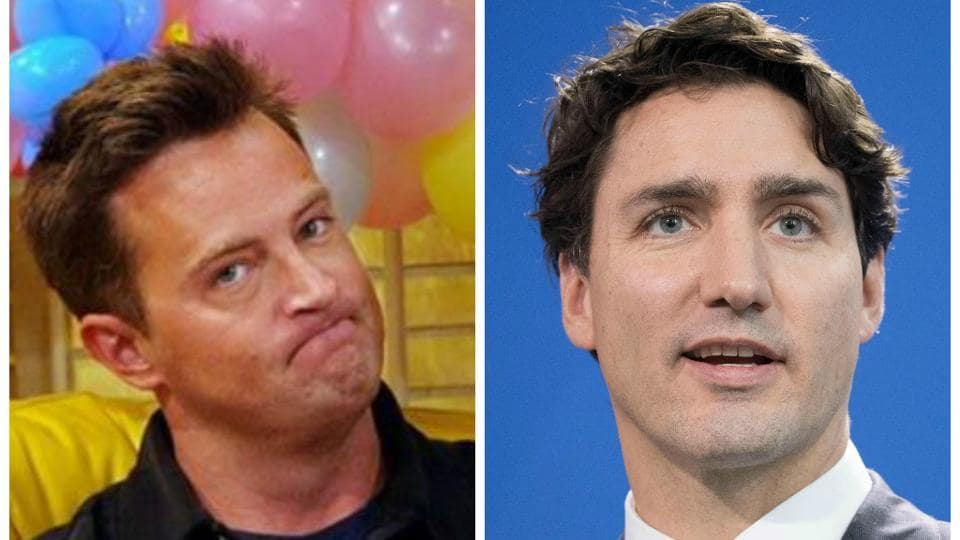 Matthew Perry and Canadian Prime Minister Justin Trudeau were together in school.