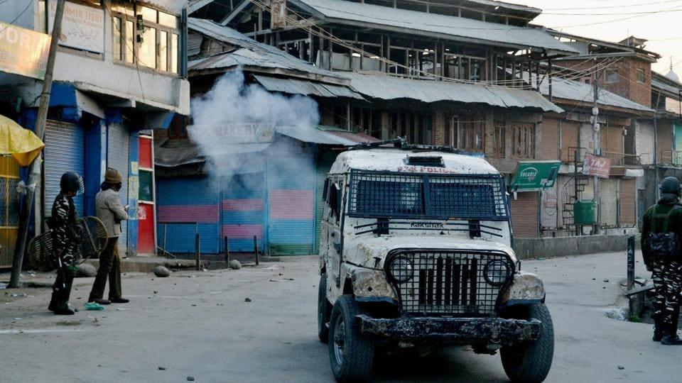 Srinagar,Grenade attack,Militancy