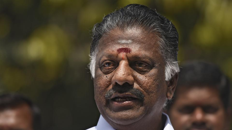 Former CM of Tamil Nadu O Panneerselvam was sanctioned the lowest category of 'Y' security cover of central paramilitary forces.