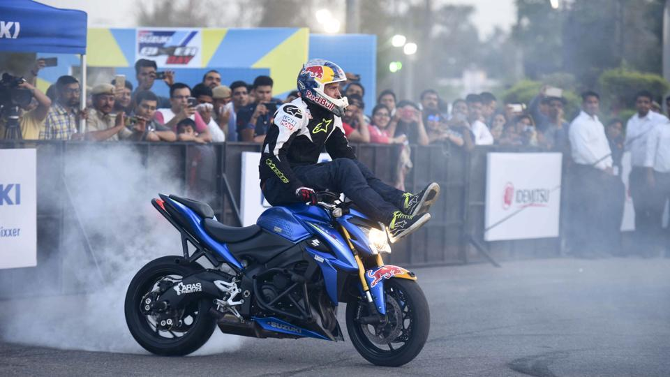 Suzuki Motorcycle India Private Limited is a subsidiary of Suzuki Motor Corporation, Japan wherein they have the same manufacturing philosophy of PRODUCTS WITH SUPERIOR VALUE right from the inception. (Arun Sharma/HT PHOTO)