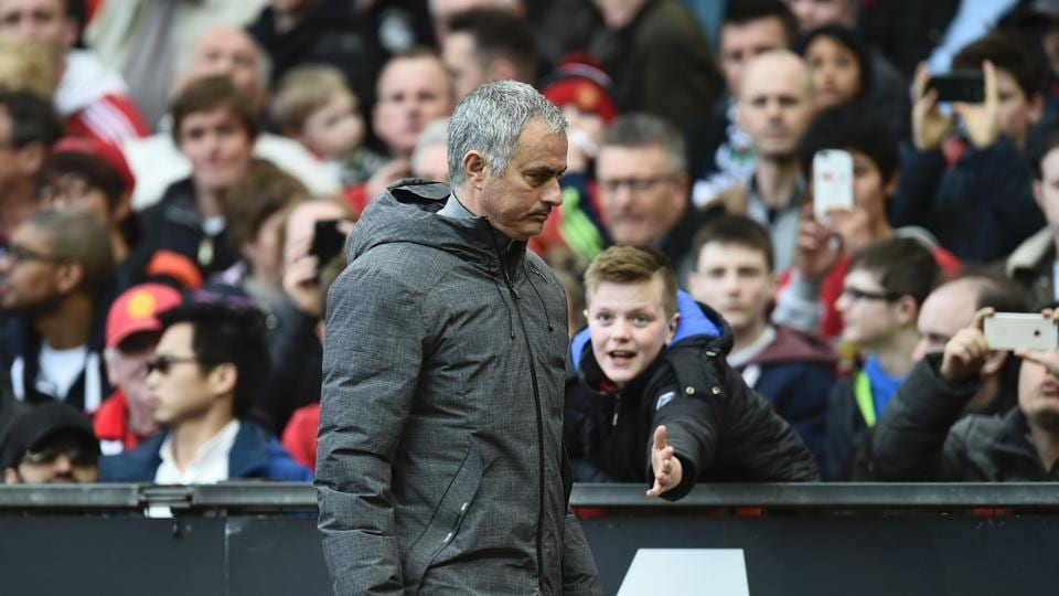 Jose Mourinho has criticised top Manchester United F.C. players after the team drew their eighth league game at home.