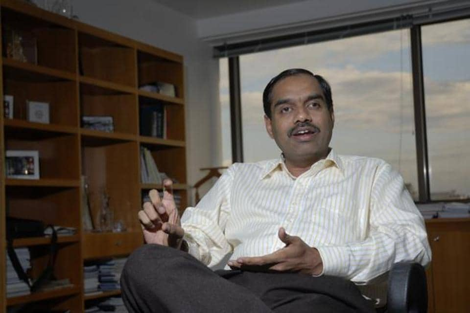V. Balakrishnan was the head of Infosys's business process outsourcing unit and a favourite to become the company's first non-founder chief executive after co-founder S.D. Shibulal retires in early 2015.