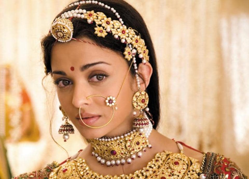 Aishwarya Rai Bachchan in a still from the movie Jodha Akbar. According to a new book, Akbar's wife Jodhabai was a Portugese and not a Rajput princess.