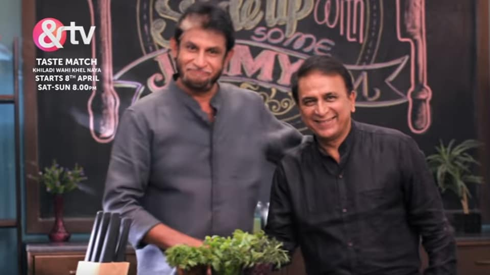 Sandeep Patil is all set to host a new cookery show with past and present cricketers as his guests.