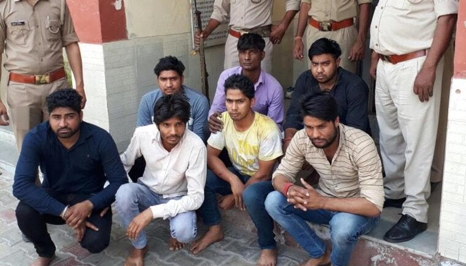 Police identified the accused — all aged 23-27 — as Vinod, Naresh, Parveshwar, Ashu, residents of Uttar Pradesh, while Ajay, Dharmendera and Rajinder are residents of Fatehpur Beri in Delhi.