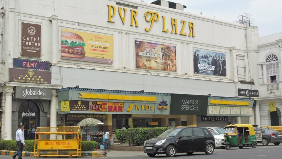 The Plaza Cinema in Connaught Place was constructed in 1940,as one of the first cinema halls in Delhi. It gave way to PVR Plaza in May 2004 after 64 years of its existence. (anmol wahi/Ht Photo)