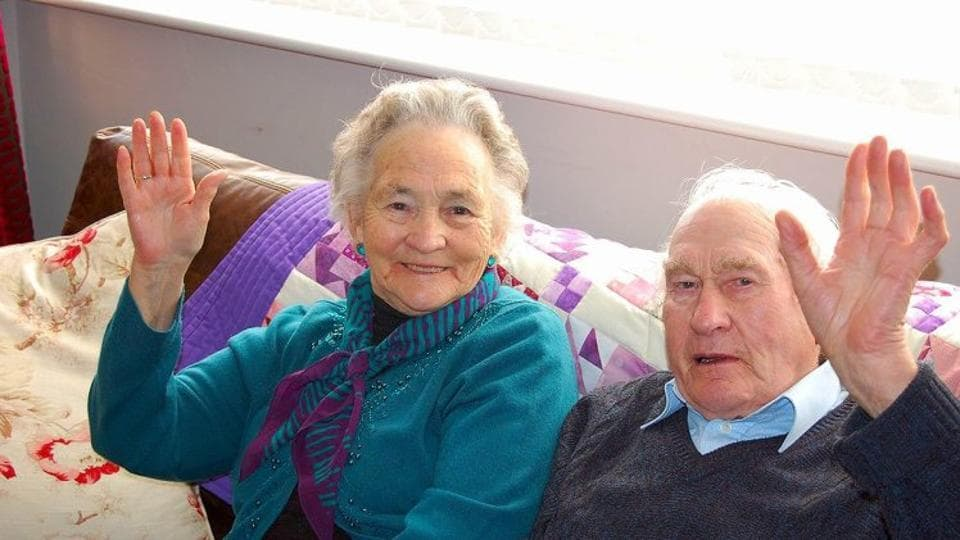 Wilf and Vera moved to Oadby a decade ago to be near their son, Stephanie's dad, Peter Russell and his family in Leicestershire. They had three sons.