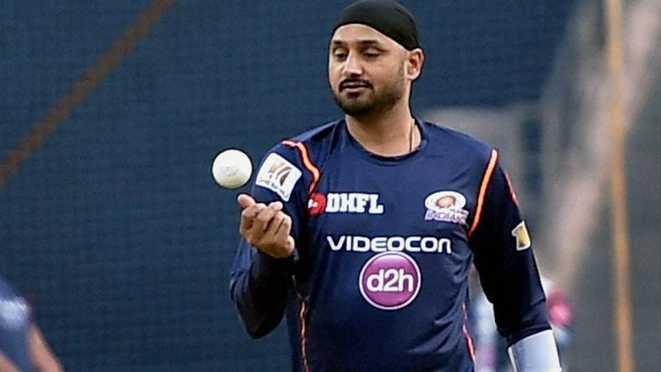 Harbhajan Singh had an extended bowling session during the Mumbai Indians nets at the Wankhede on Sunday, ahead of the 2017 Indian Premier League (IPL). The IPL-10 season begins on April 5 in Hyderabad -- match between defending champions Sunrisers Hyderabad and Royal Chellengers Bangalore.  (PTI)