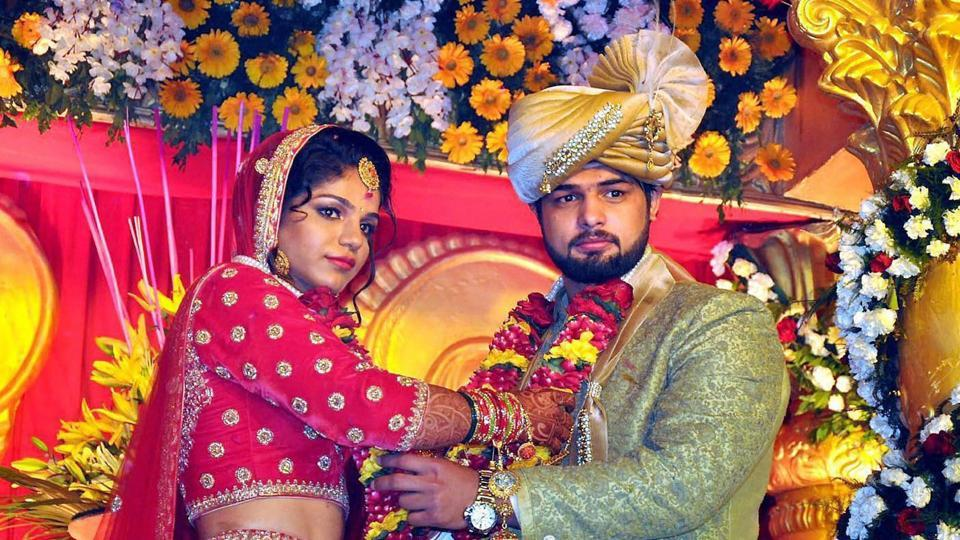 Sakshi Malik, who won a historic bronze medal in the 2016 Rio Olympics, tied the knot with wrestler Satyawart Kadian in Rohtak.