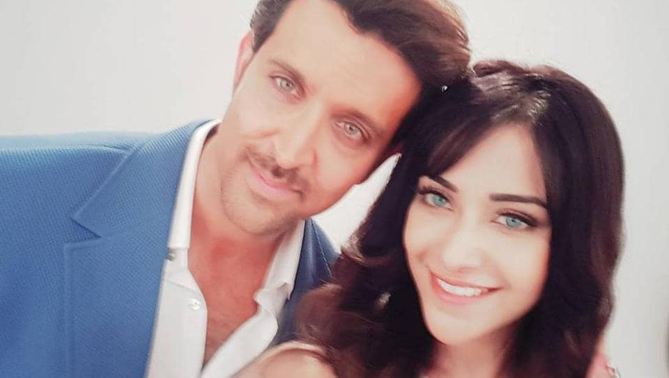 Angela says she has done two commercials with Hrithik Roshan.