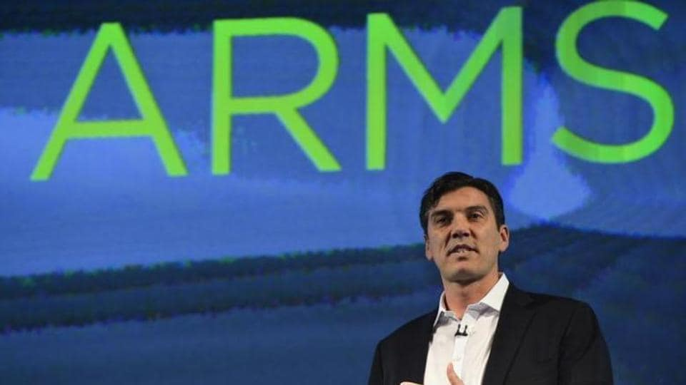 Chairman and CEO of AOL, Tim Armstrong, speaks during the launch of the HTC.