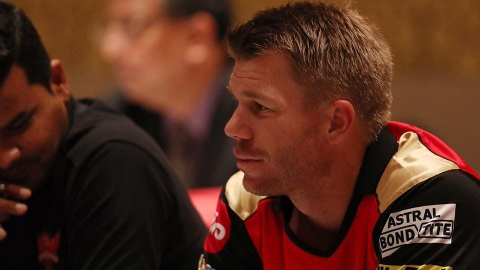 David Warner will look to lead Sunrisers Hyderabad to a consecutive IPL title win. (twitter)