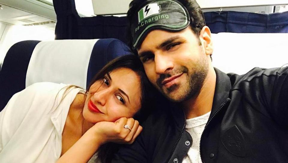 The two are currently seen on Nach Baliye, which marks their first ever appearance on any reality show as a couple.