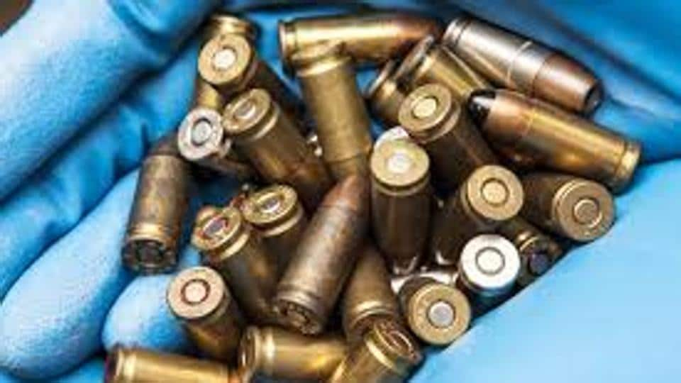 Sources said Raj Pandiya, who was carrying a live cartridge of INSAS rifle in his luggage, has been handed over to army authorities.