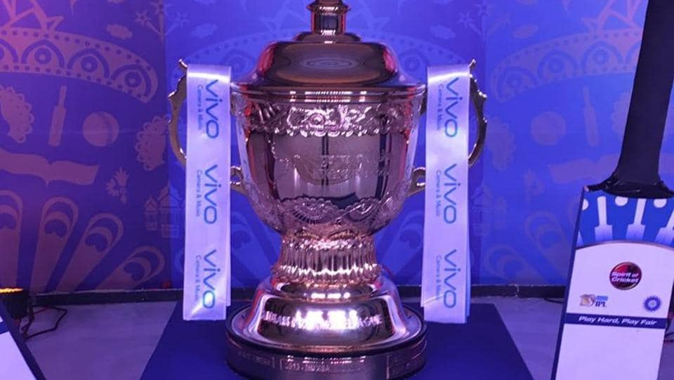 A look at the coveted Indian Premier League (IPL) trophy. (twitter)