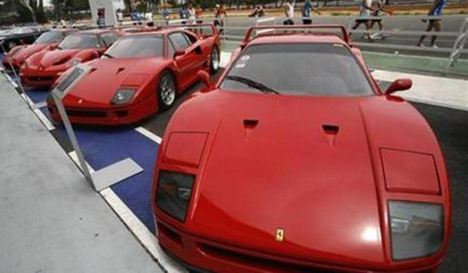 Ferrari Cars, Including The F40 (R And 2nd R), F50 (2nd