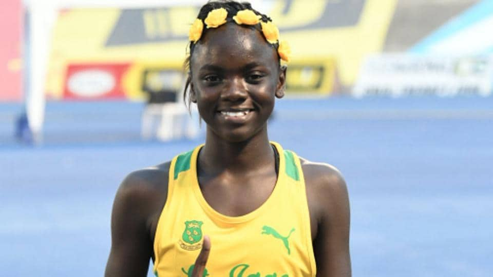 Brianna Lyston has been compared to Usain Bolt after she won the Class Four 200m sprint.