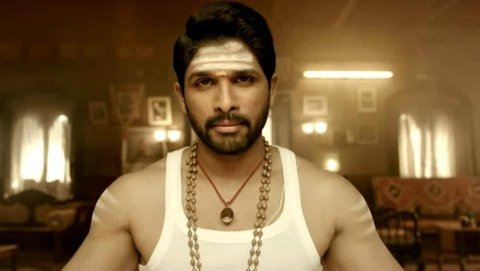 Allu Arjun in a still from Duvvada Jagannadham (DJ).