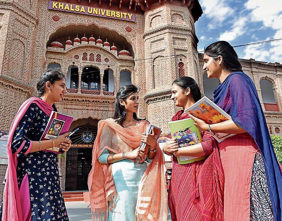 Khalsa University,CApt Amarinder Singh,Punjab govt