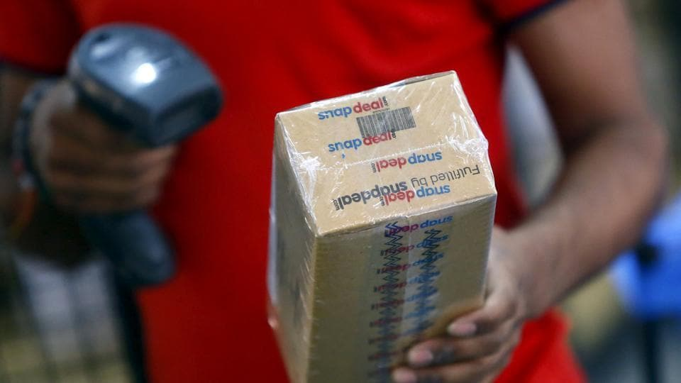A worker of Indian e-commerce company scans barcode on a box.  With so much capital and resources at their command, Indian e-commerce firms should have focused on building delightful customer experiences. (Representative image)