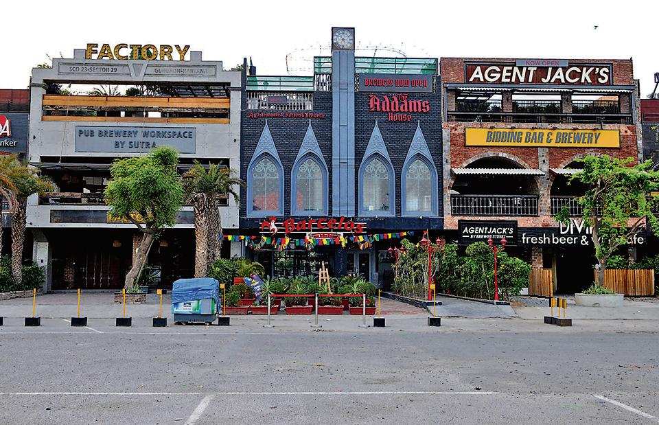Gurgaon,Sector 29,pubs