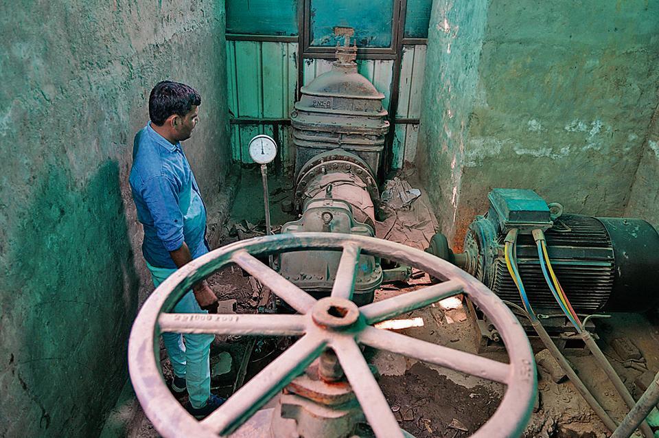 Gurgaon,water supply,Huda