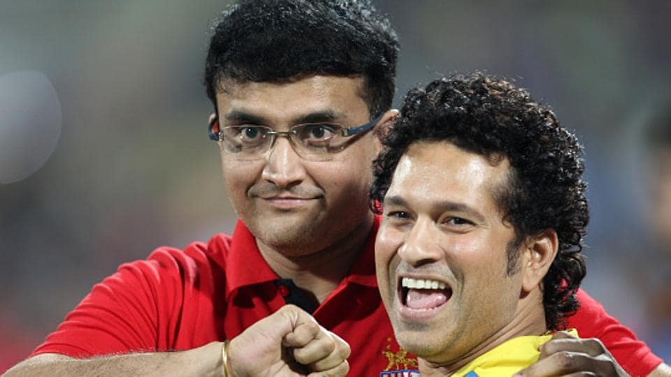 Former Indian cricket team captain and Sachin Tendulkar's opening partner for several years, Sourav Ganguly (left), congratulated the batting legend saying that Sachin had incredible ability beyond the field.