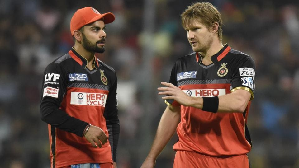 Shane Watson will lead Royal Challengers Bangalore in the first few games of the 2017 Indian Premier League after injuries to Virat Kohli and AB de Villiers.