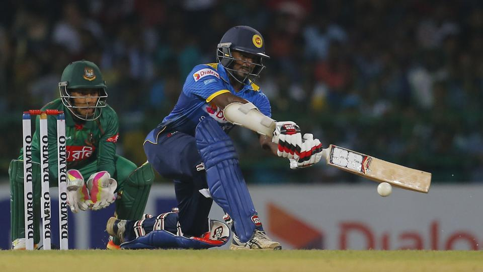 Kushal Perera scored a fifty as Sri Lanka defeated Bangladesh in the first T20I in Colombo.