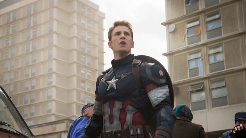 Chris Evans has played Captain America in five films.