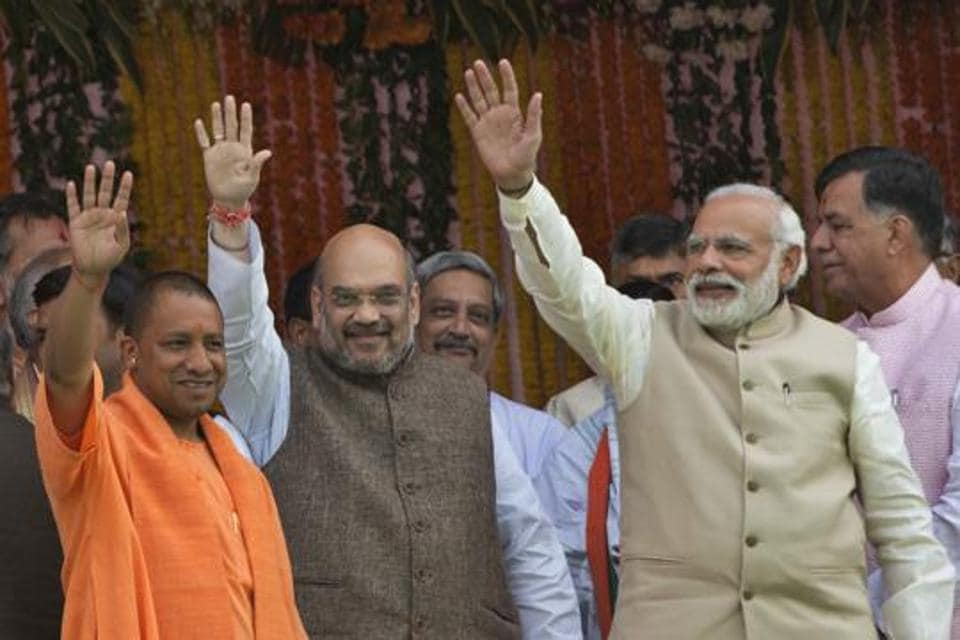 BJP national executive meet,PM Modi,Yogi Adityanath