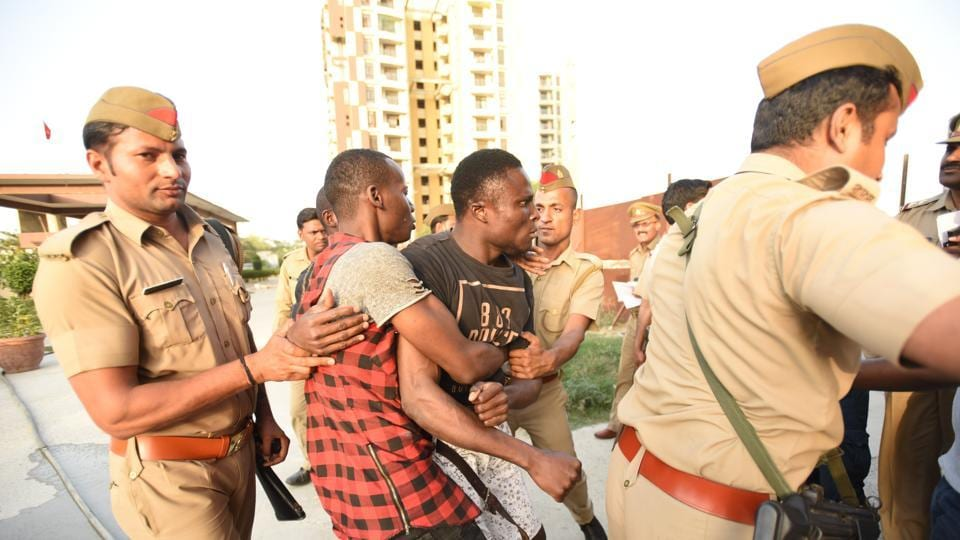 A football match will be organized between African and Indian students in order to diffuse tension between the two communities that had erupted after racial attacks in Greater Noida.