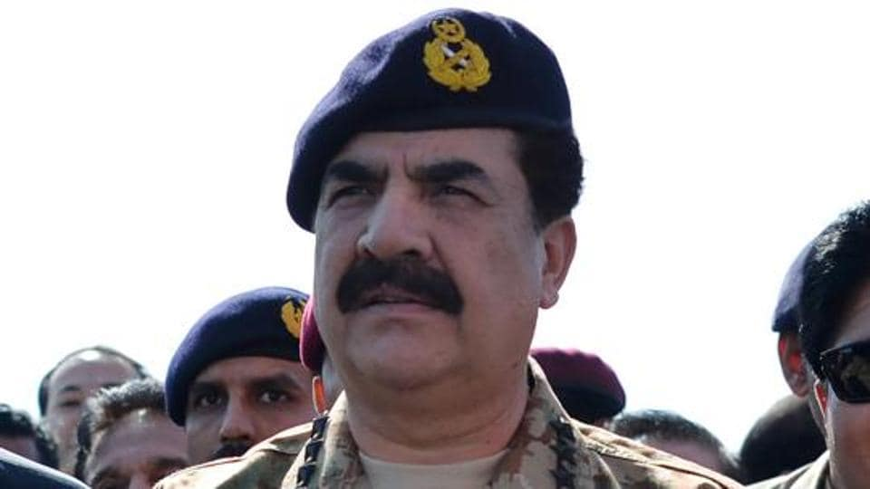 File photo of former Pakistan Army chief Raheel Sharif attending a ceremony at Gwadar port in Balochistan in November 2016.