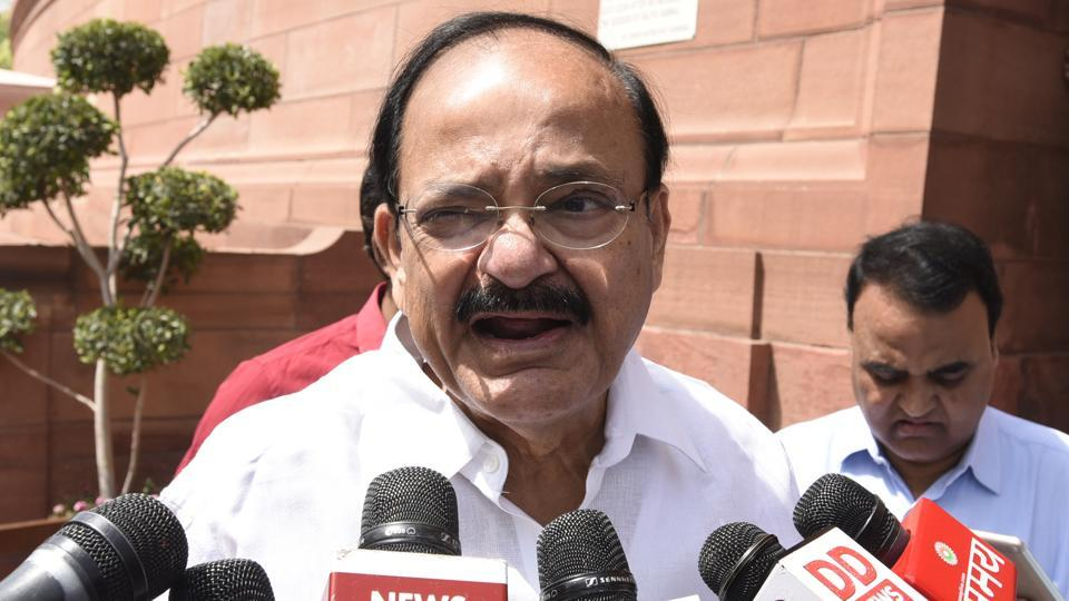 Communal reservation,Venkaiah Naidu,Union information and broadcasting minister