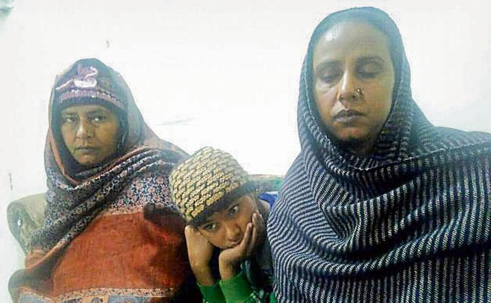 Fatima Bibi (left), her daughter Hena and sister Mumtaz are behind the bars in a drug case.