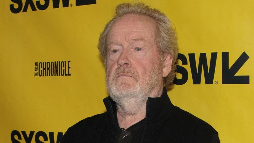 Ridley Scott arrives on the red carpet for the premiere of the film Alien: Covenant during day one of The South by Southwest (SXSW) Conference held at the Paramount Theater in Austin, Texas.