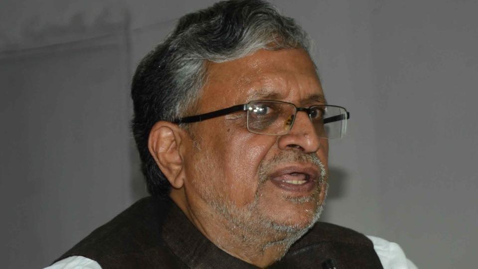 BJPleader Sushil Kumar Modi