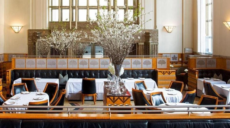 """Eleven Madison Park was crowned world's best restaurant for enhancing the dining experience with a """"sense of fun, blurring the lines between the kitchen and the dining room""""."""