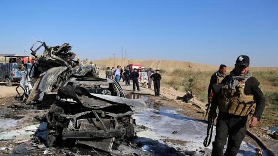 Suicide bombing,Tikrit,Iraq