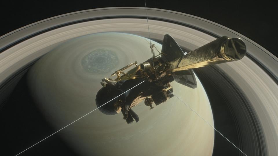 Cassini will burn like a meteor to end its 20-year-journey.