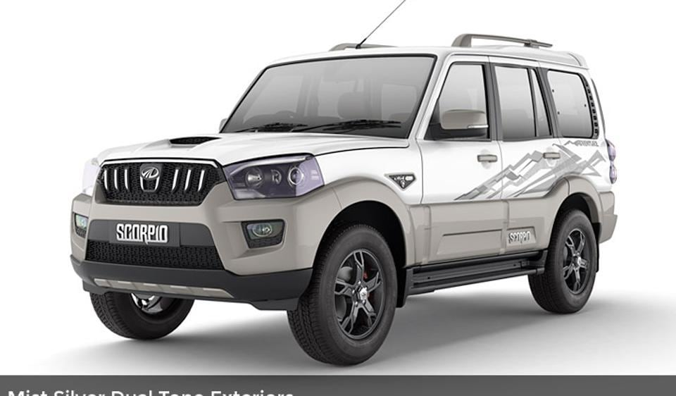 The limited edition Mahindra Scorpio Adventure was launched in India at Rs 13.10 lakh.