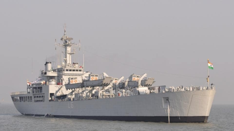INS Shardul,Indian Navy,Indian Ocean