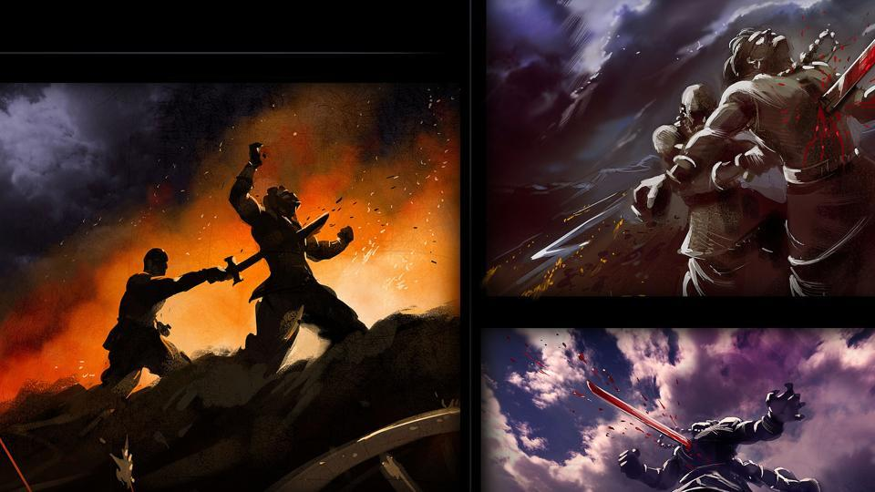 Baahubali franchise features extensive concept designing.