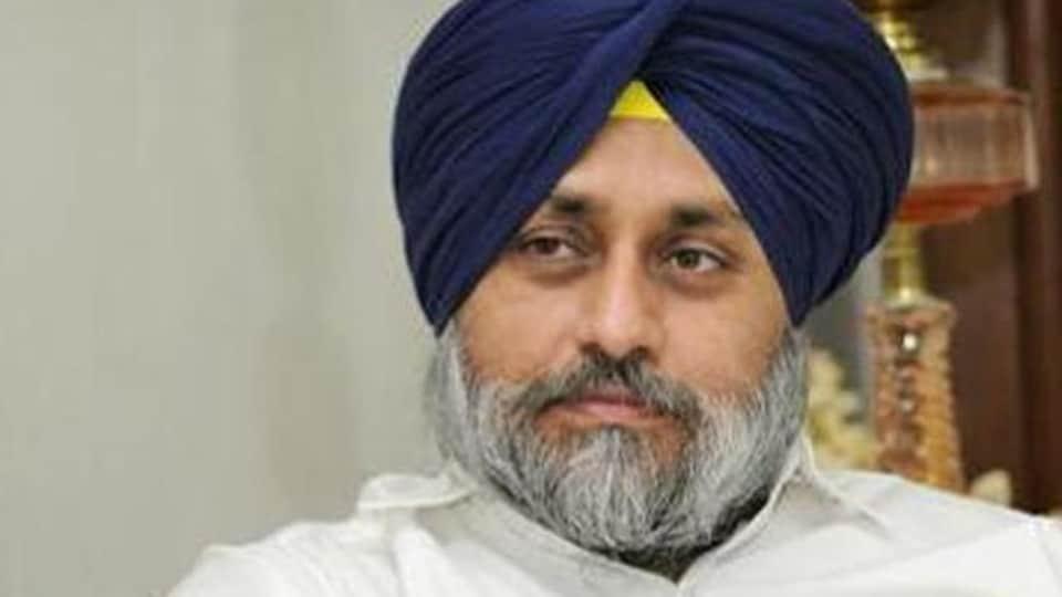 Former deputy CM of Punjab and SAD president Sukhbir Singh Badal
