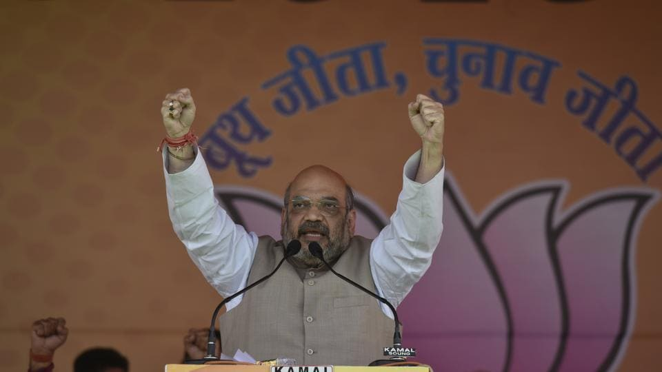 BJP chief Amit Shah will be in Tripura on May 7 and 8.