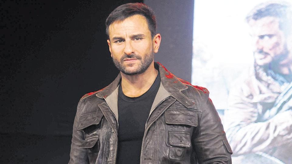 Saif Ali Khan says at the moment, he isn't interested in producing films.