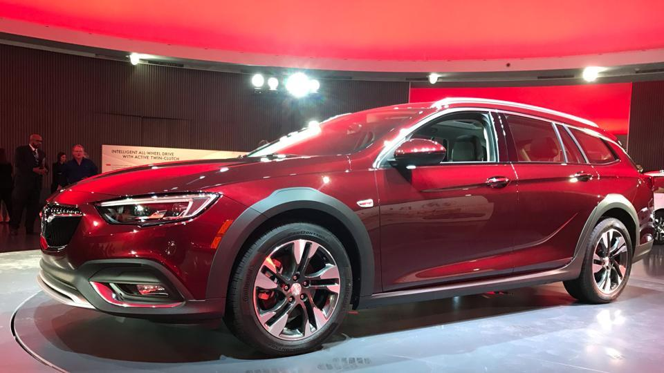 General Motors Co unveiled a new Buick model called the TourX aimed at Volvo and Subaru's wagons in the United States market in Detroit, Michigan, US.