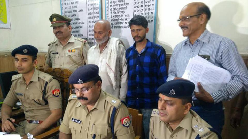 The two arrested have been identified as Akram and Islam, who hail from Muzaffarnagar.