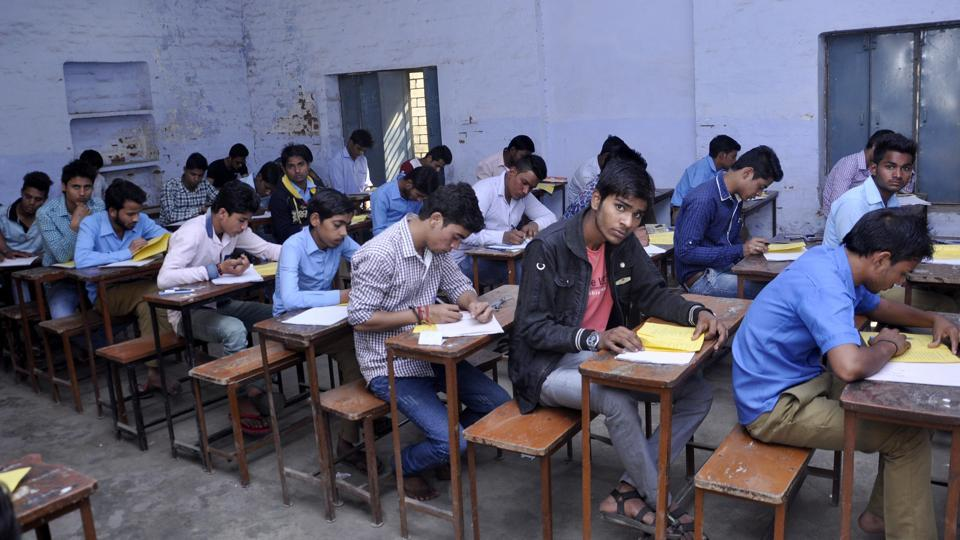 Despite steps taken by authorities in Uttar Pradesh to check mass copying during board exams, there are reports of use of unfair means in examination centres across the state.