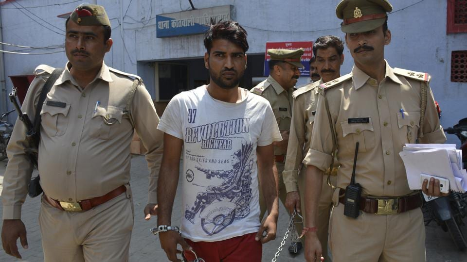 Police arrested on Wednesday a 22-year-old suspect in a case of acid attack in Ghaziabad.